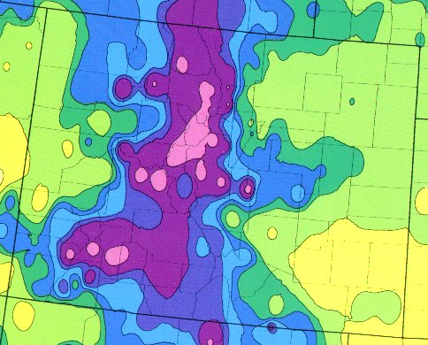 Gardeningplaces ahs plant heat zone map for Gardening zones colorado